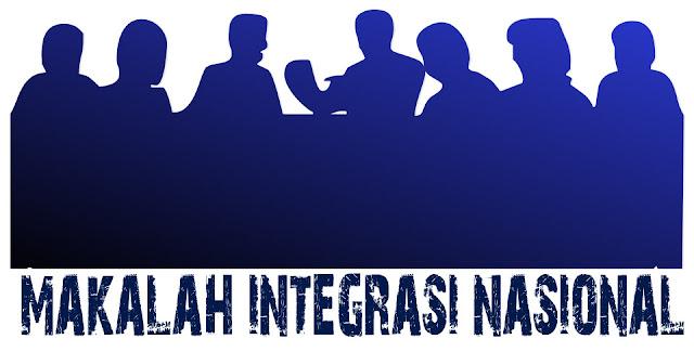 Download Makalah Integrasi Nasional Indonesia