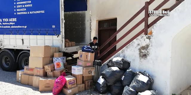 Συγκινητική συμμετοχή των πολιτών του Άργους στη συγκέντρωση βοήθειας προς τους πυροπαθείς (βίντεο)