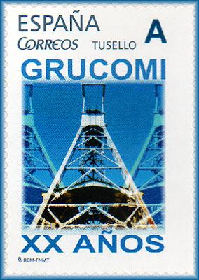 Sello personalizado del XX aniversario de GRUCOMI
