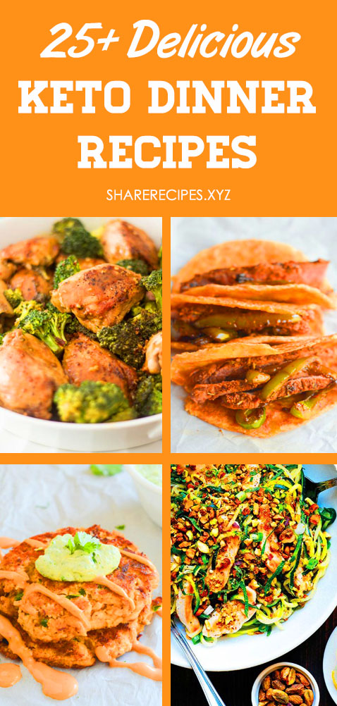 25+ Delicious Keto Recipes That Make The Perfect Weight Loss Dinner! Keto Dinner Recipes, Keto recipes easy, Low carb meals, Keto chicken recipes, Low carb dinner, Keto meals, Ketogenic diet. Keto dinner crockpot, keto dinner casserole, keto dinner instant pot, keto dinner quick.  #keto #ketodiet #ketorecipes #ketogenic #ketogenicdiet #ketodinnerrecipes #lowcarbdinner #lowcarbmeals