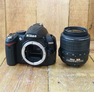 Kamera Nikon D3000 Bekas Di Malang