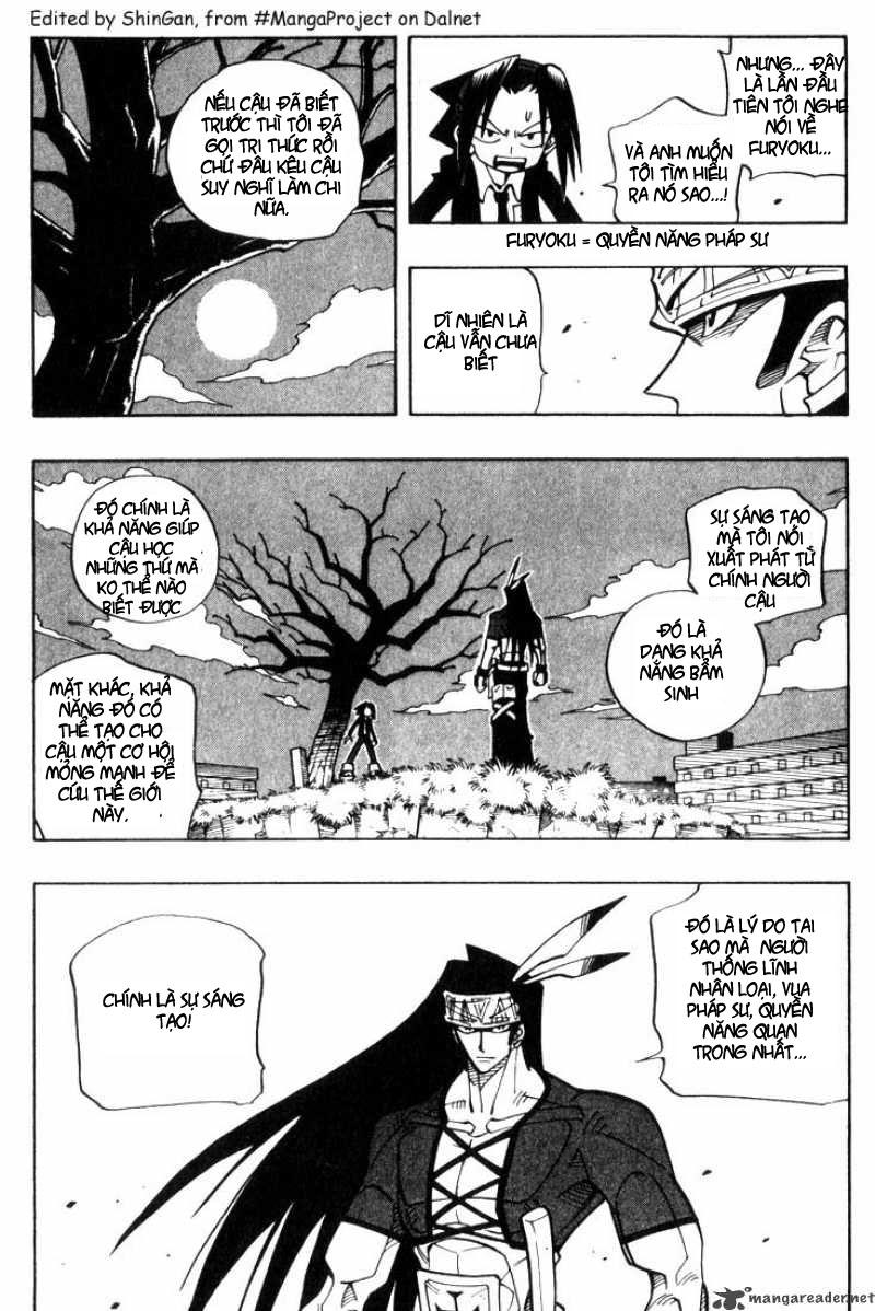 Shaman King [Vua pháp thuật] chap 29 trang 2