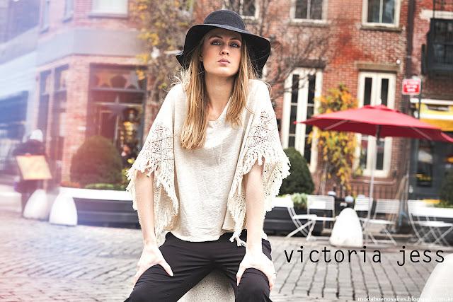 Ropa de moda otoño invierno 2016 Victoria Jess Mujer. Moda invierno 2016.