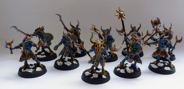 Tzaangor from Warhammer Quest: Silver Tower, Age of Sigmar