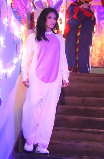 Sunny Leone rocks a cute bunny onsie in MTV Splitsvilla 10 promo