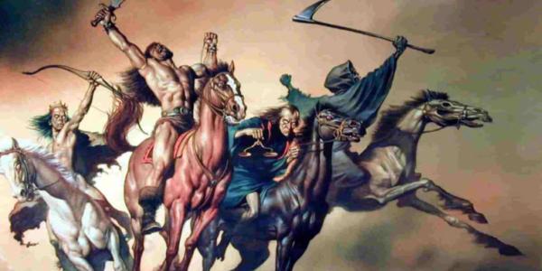 """Οι """"τέσσερις ιππότες της Αποκάλυψης"""" έρχονται στην Ελλάδα μέχρι το 2018...!"""