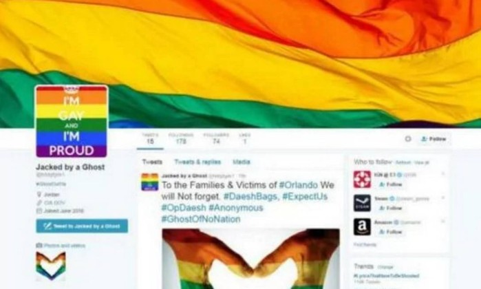 Hacker coloca apoio aos direitos LGBT em contas do Estado Islâmico nas redes socais