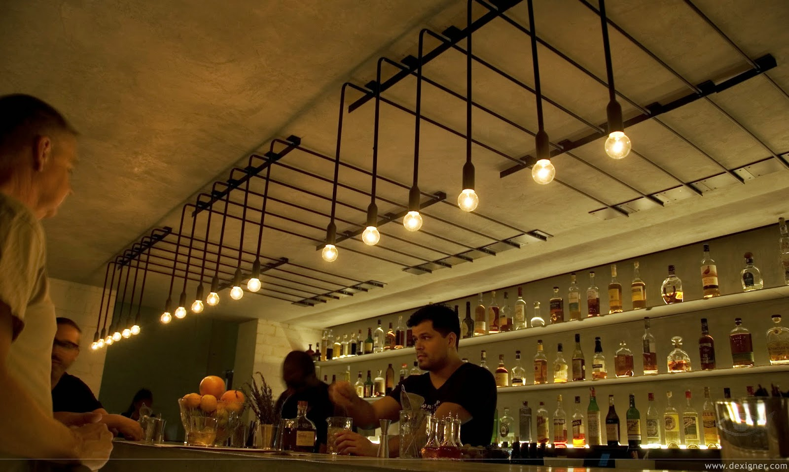 LET'S STAY: Industrial Design Ceiling Light : Restaurant