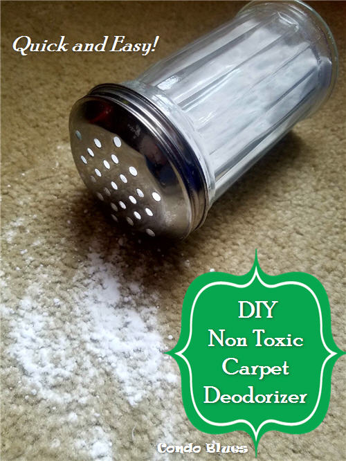 DIY non toxic baking soda carpet deodorizer