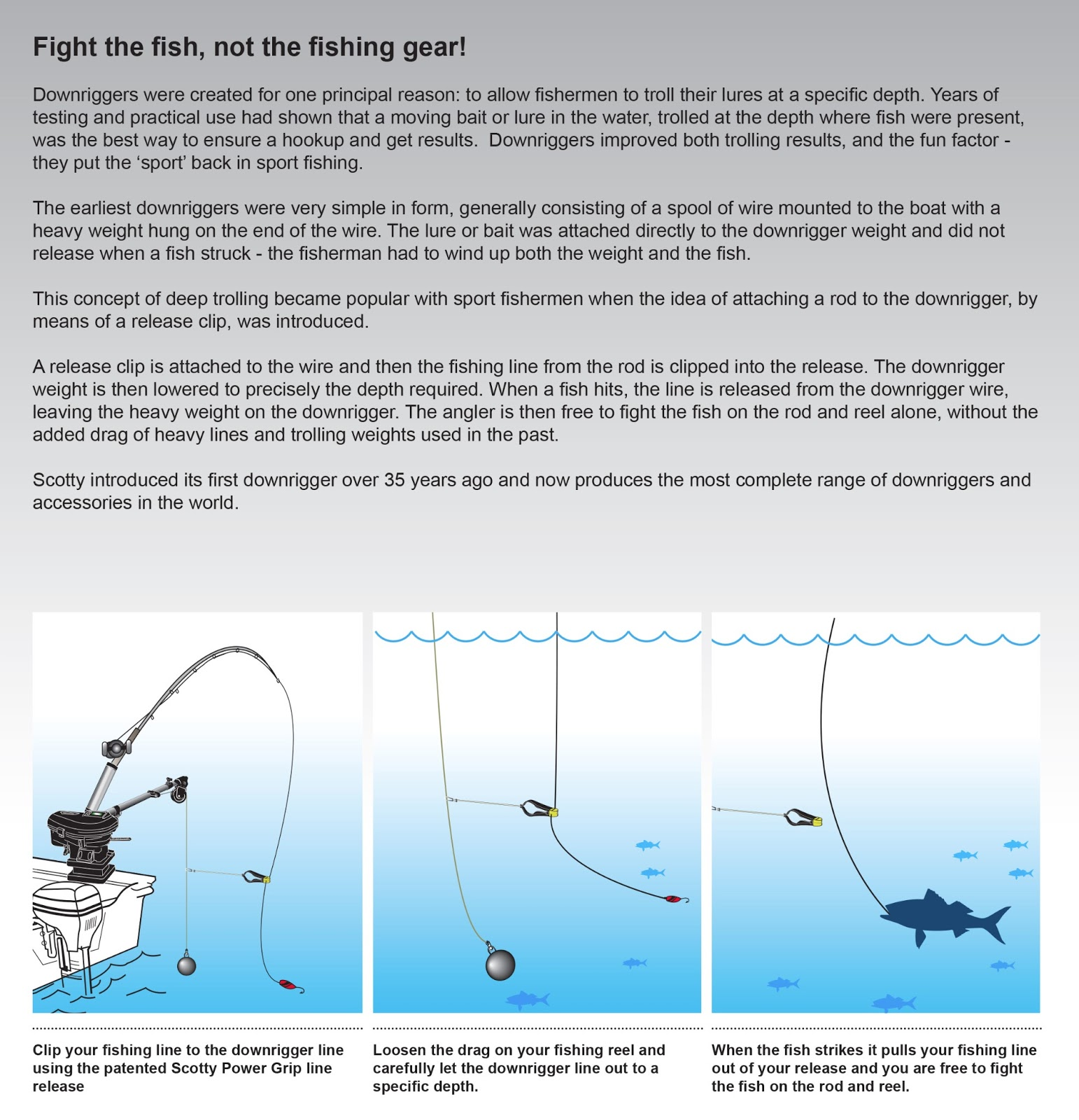 Scotty Fishing Products: January 2013