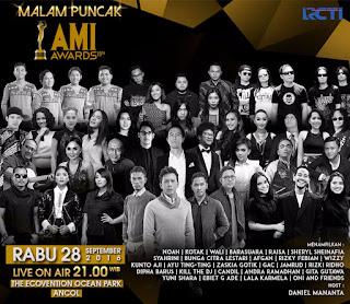 Pemenang AMI Awards 2016