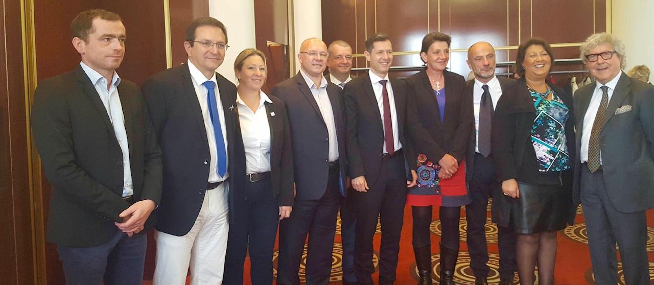 En photo : les membres du bureau du CRT Auvergne Rhône-Alpes