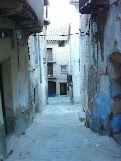 lo castellá, lo castellà, barrio, Beceite, Beseit, casco antiguo de Beceite