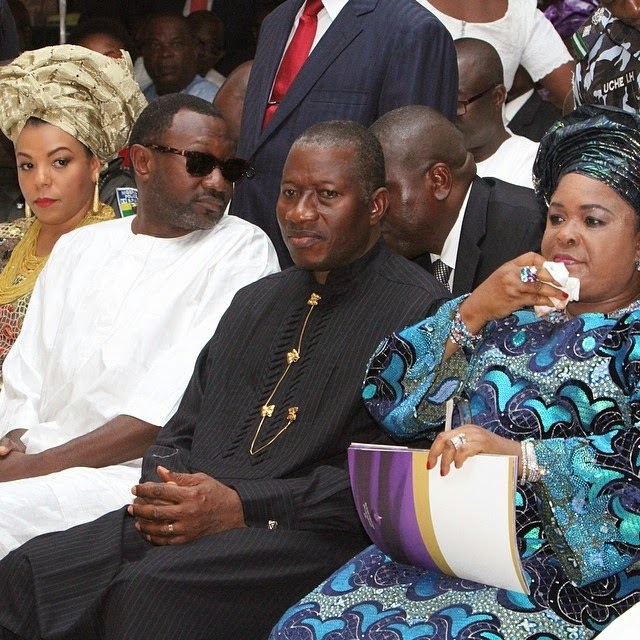 femi otedola father burial