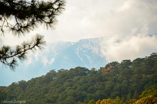 Горы в Массандре