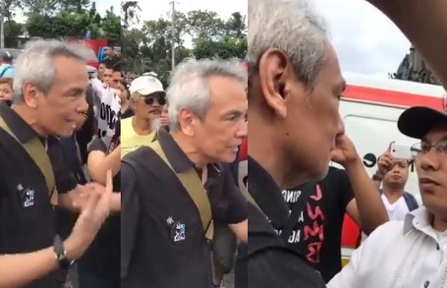 WATCH: Jim Paredes at Duterte Youth Organizer nagpang-abot at nagkainitan