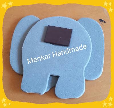 Parte trasera elefante