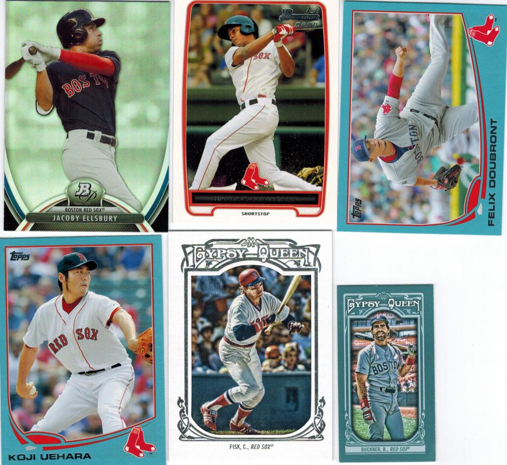 18. 2013 Bowman Platinum Jacoby Ellsbury. Hopefully his injury is nothing  too serious. Boston needs him healthy for the postseason.