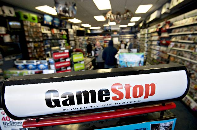 Loja Gamestop em Nova York