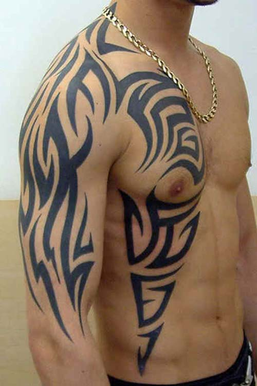 erkek tribal dövmeler man tribal tattoos 32