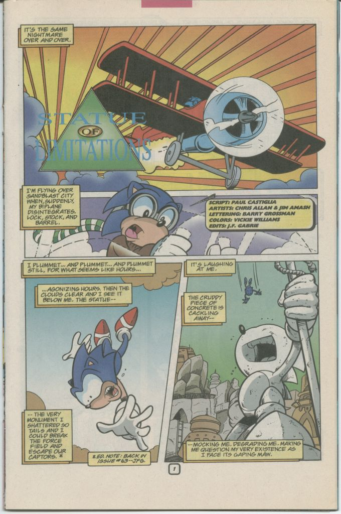 Read online Sonic The Hedgehog comic -  Issue #70 - 23