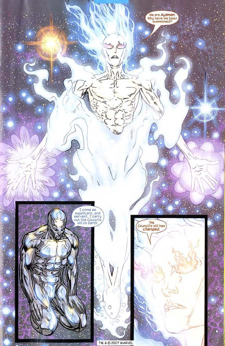 Read online Silver Surfer (2003) comic -  Issue #8 - 25