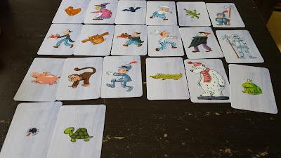 おばけの試験カードゲーム (キャラクターカード)
