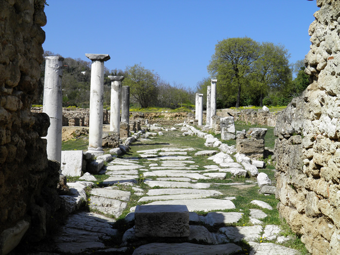 Ruin of ancient Edessa