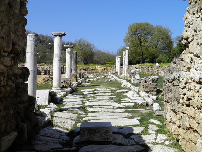 Ruin of ancient Edessa