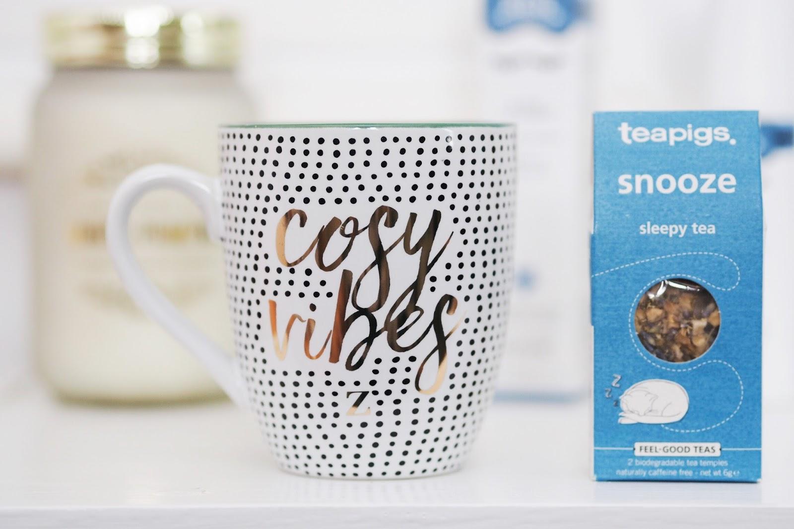 REN and now to sleep pillow spray review zoella lifestyle mug