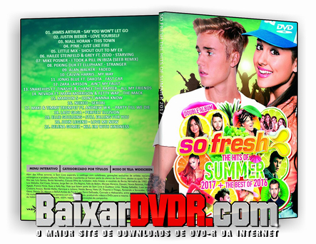 So Fresh  The Hits Of Summer (2017) DVD-R