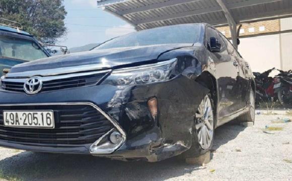 3 thẩm phán ngồi trên xe gây tai nạn rồi bỏ chạy