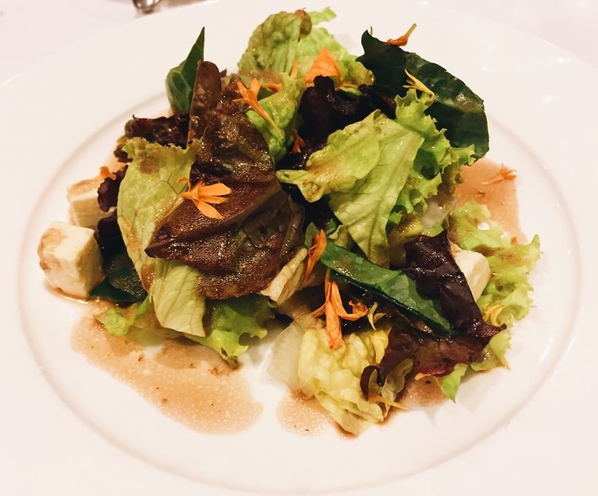 Kale and Mesclun Greens Salad at Top of the Citi by Chef Jessie