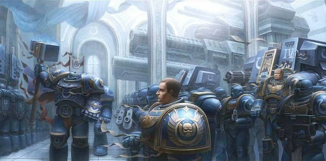 Space Marine Codex Chapter Background Info