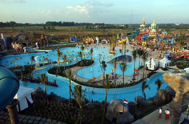 7 Keindahan Tempat Wisata di Surabaya yang Wajib Dikunjungi,Ciputra Waterpark