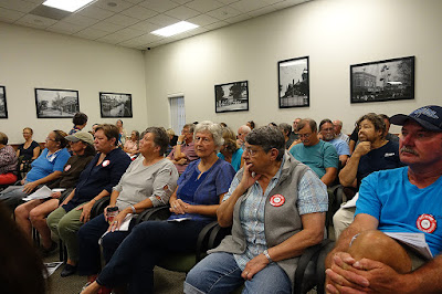 crowdinbradford In: Residents speak out against proposed phosphate mine in Bradford | Our Santa Fe River, Inc. | Protecting the Santa Fe River in North Florida