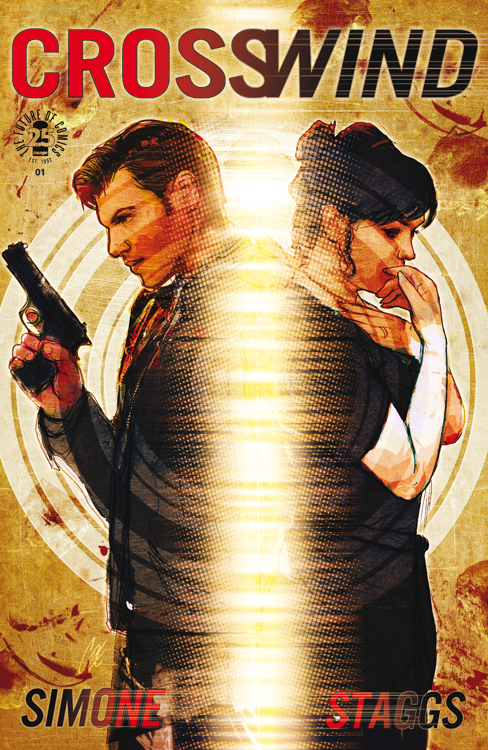 Read online Crosswind comic -  Issue #1 - 1