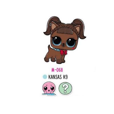 Собачка Kansas K9