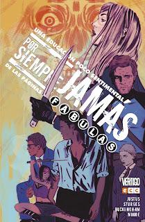 """Cómic: Reseña de """"Por siempre jamás: Una educación poco sentimental"""" de Dave Justus y Matthew Sturges - ECC Ediciones"""
