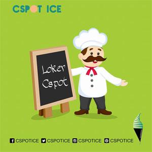 Cspot Ice Butuh Waiter dan Cook