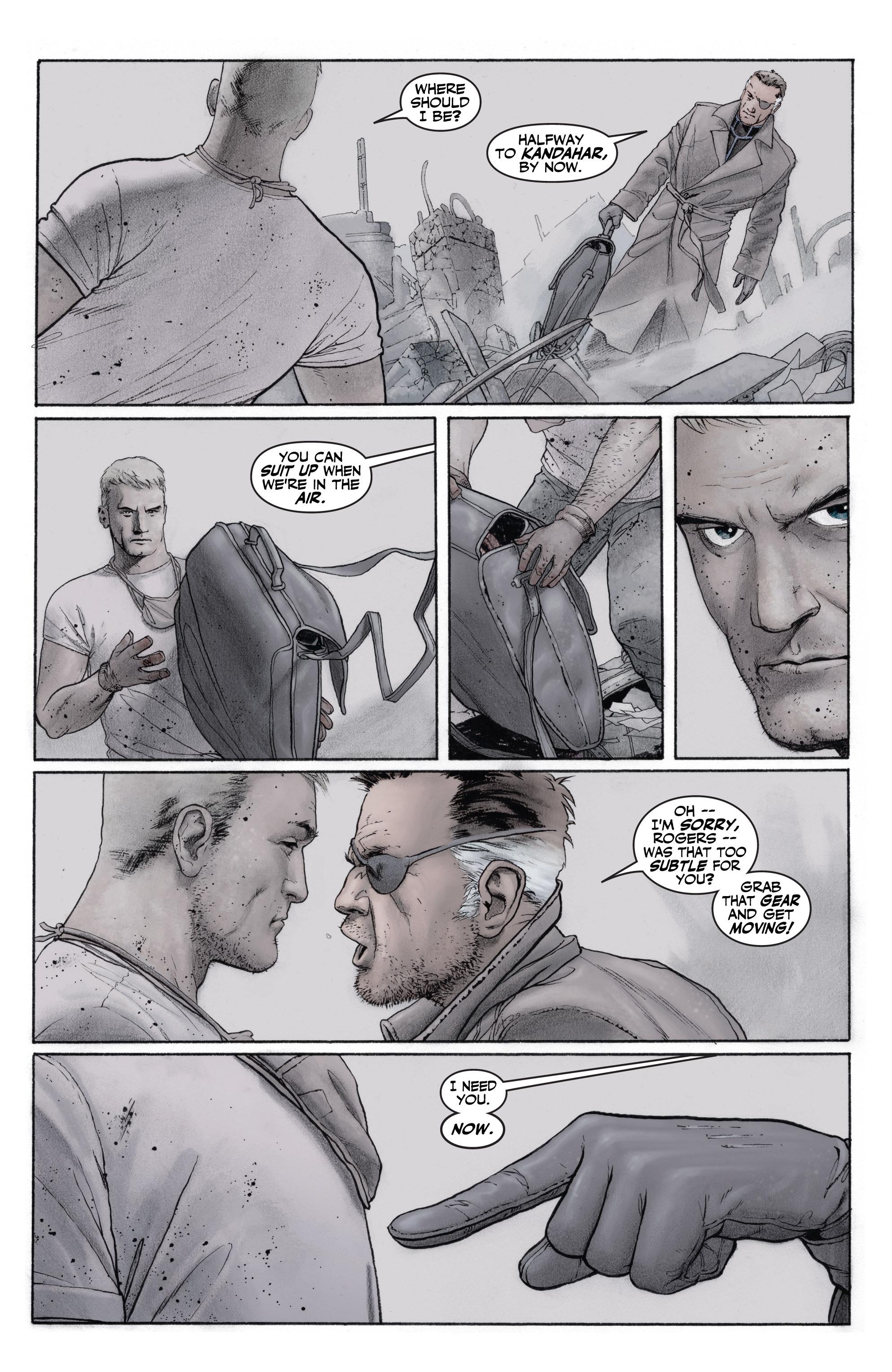 Captain America (2002) Issue #1 #2 - English 12