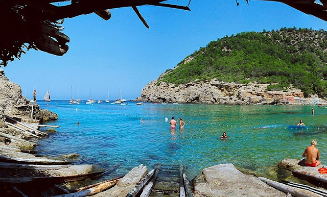 Playa de Benirras em Ibiza