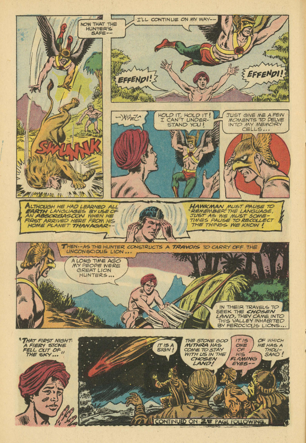 Hawkman (1964) issue 20 - Page 20