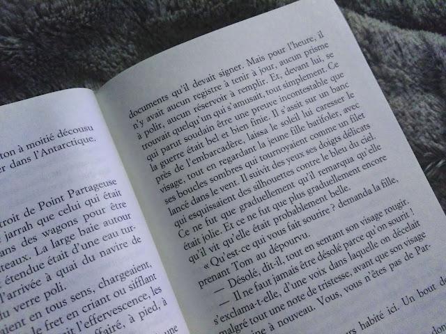 chronique livre littéraire vie océans stedman