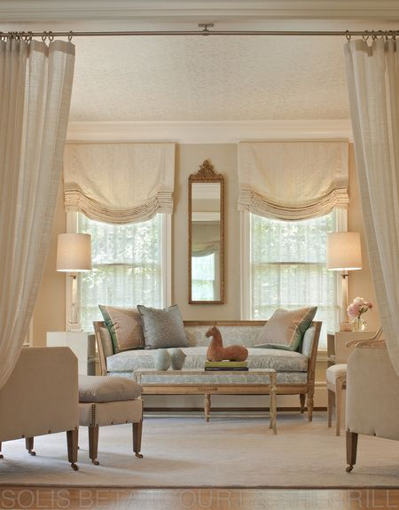 Eye For Design: Decorating With Portieres........Drapes ...