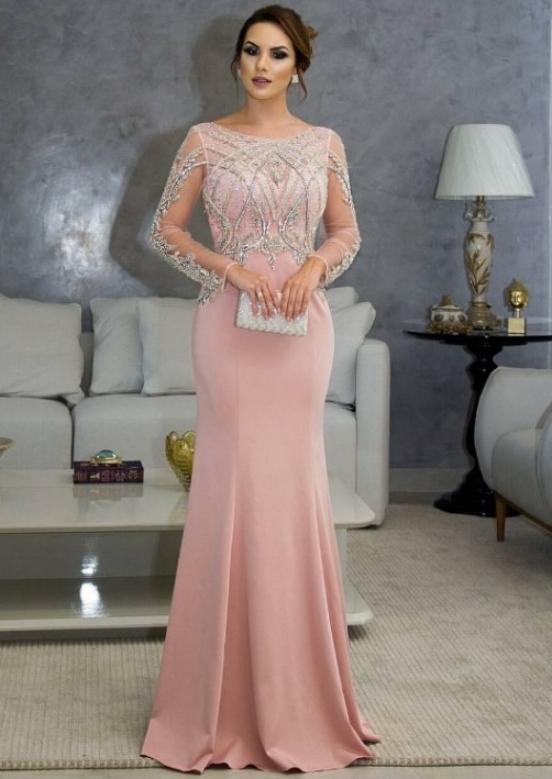 vestido de festa moda evangélica