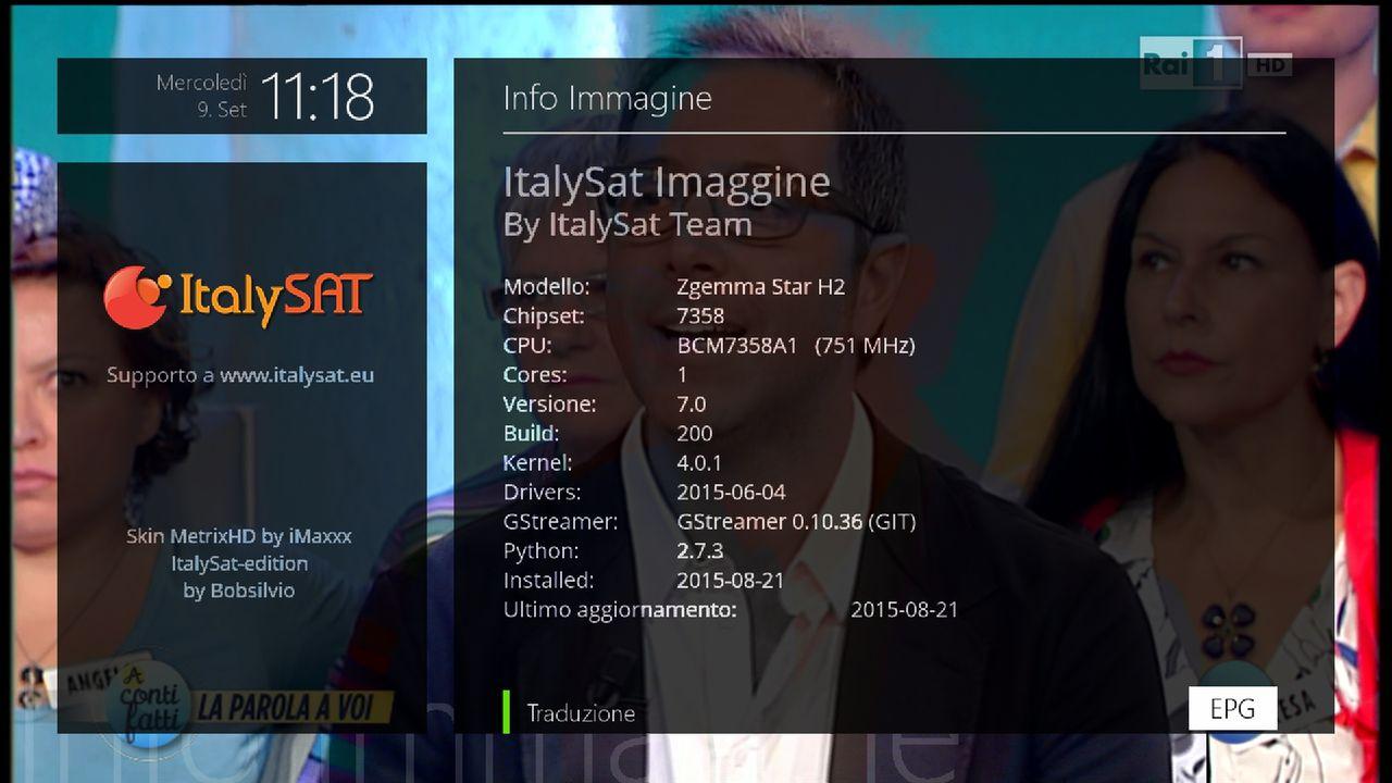 Zgemma Star H2 - Info ItalySAT