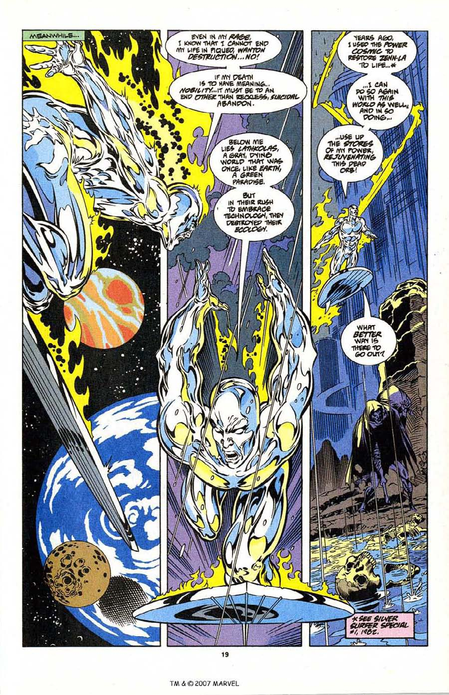 Silver Surfer (1987) Issue #104 #112 - English 21