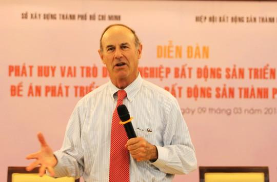 Giáo sư Richard Peiser : Phản đối thu thuế BĐS là quan điểm sai lầm