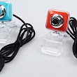 2MP USB Webcam with Transparent Clip